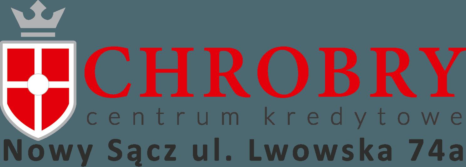 logo chrobry z adresem